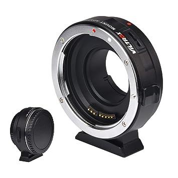 EF-E Auto Enfoque Adaptador Anillo para Canon EF Lente a Sony E Montaje Cámara