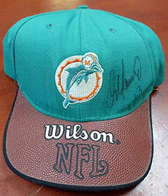 Dan Marino Signed Miami Dolphins Hat - Certified Genuine Autograph By Beckett