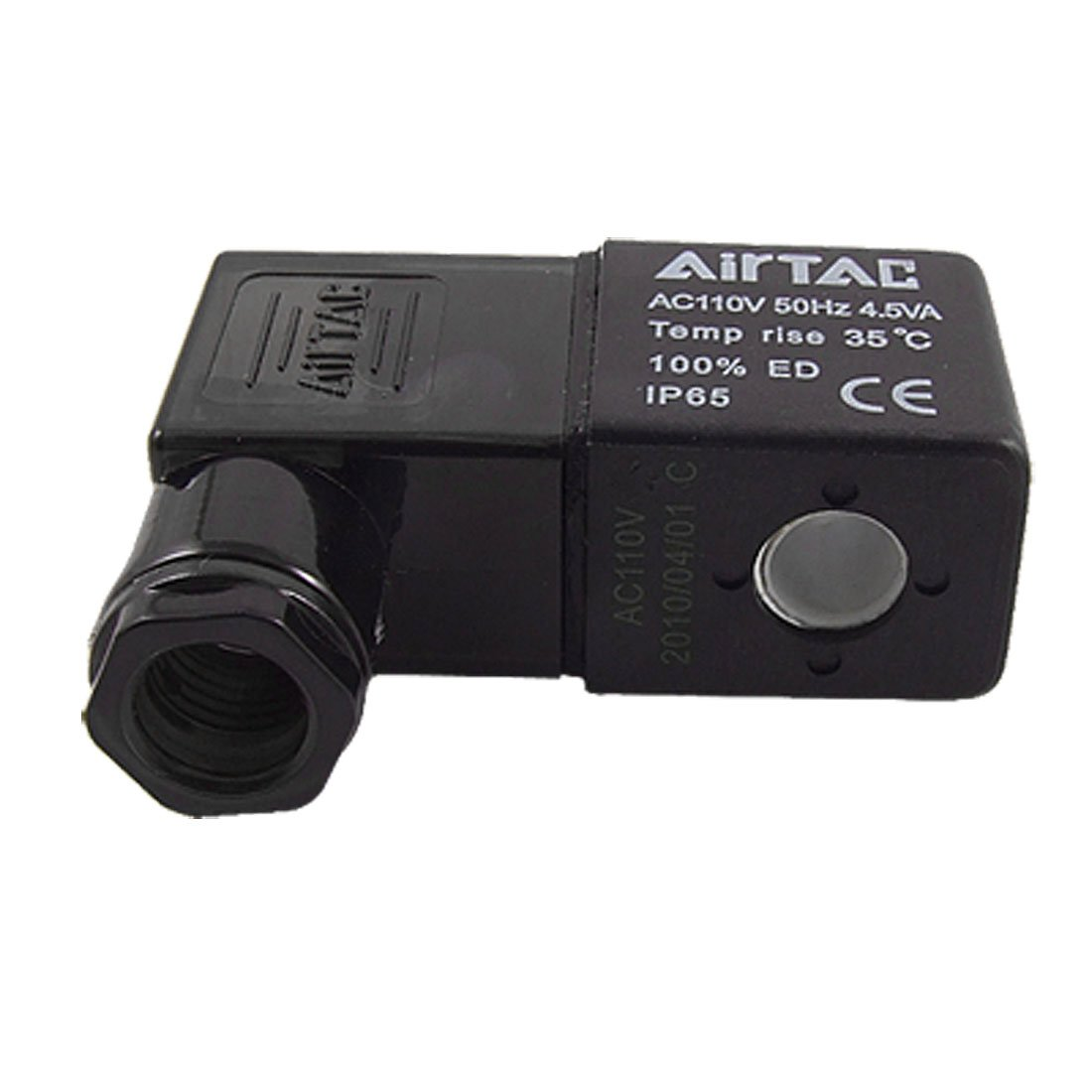 Aexit Black AC Passive Components 110V Electrical Component Solenoid Chokes Valve Coil