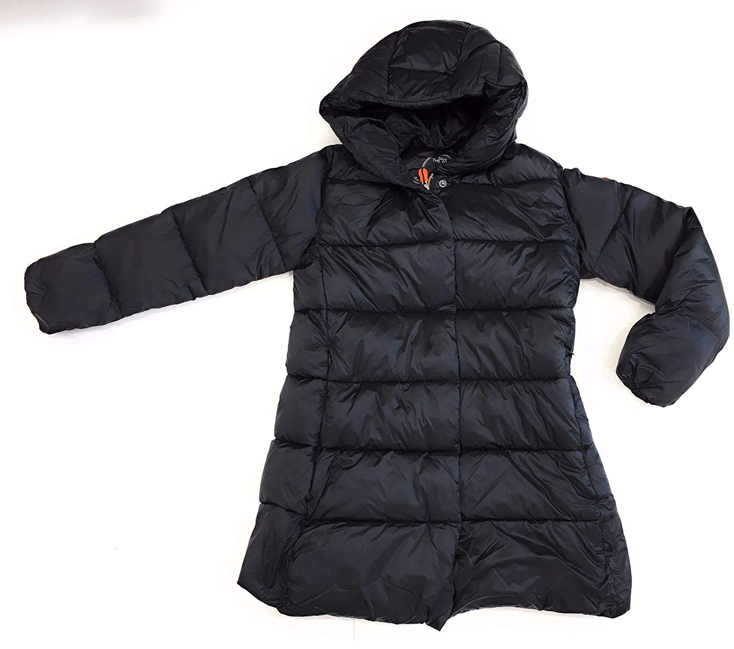 SAVE THE DUCK Bambina J4465GIRIS7 Black Giubbotto Inverno