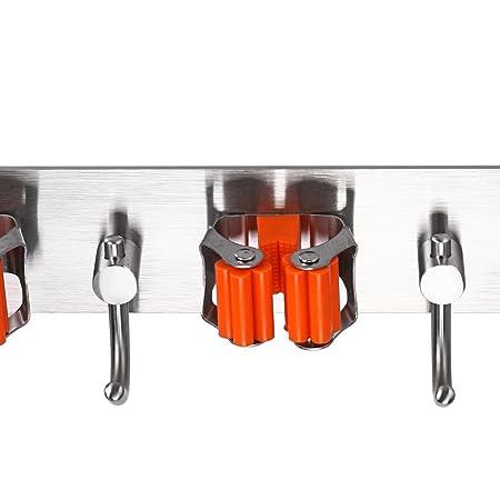 Amazon.com: Sumnacon - Organizador de escobas para fregonas ...