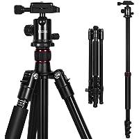"""Treppiedi Fotocamera ESDDI 160cm/62.6"""" Treppiede Alluminio Con Monopiede e 360 Gradi Testa a Sfera per videocamera o fotocamera Treppiede Professionale per Canon Nikon Sony Samsung Olympus"""
