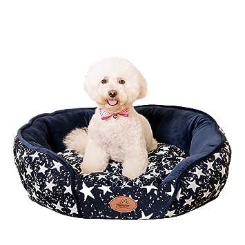 YGJT Cama para Mascotas Gatos/Cojín para Canastas para Perros Pequeños Cálido con Tapete Desmontable
