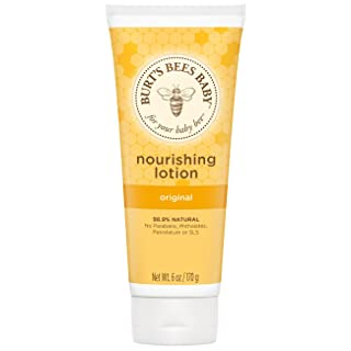 Burt's Bees Baby Nourishing Lotion, Original Scent Baby Lotion - 6 Ounce Tube