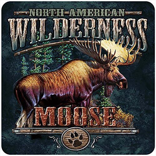Moose Outdoor Wall - Moose Wilderness Novelty Sign | Indoor/Outdoor | Funny Home Décor for Garages, Living Rooms, Bedroom, Offices | SignMission Personalized Gift Wall Plaque Decoration