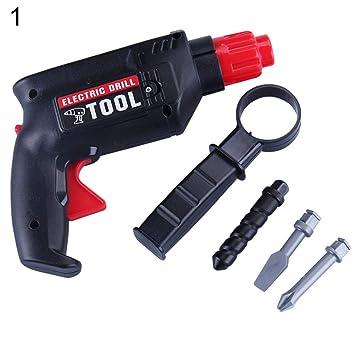 FnieYxiu Simulation Electric Drill Maintenance Repair Tool Model Pretend  Play Kids Toy