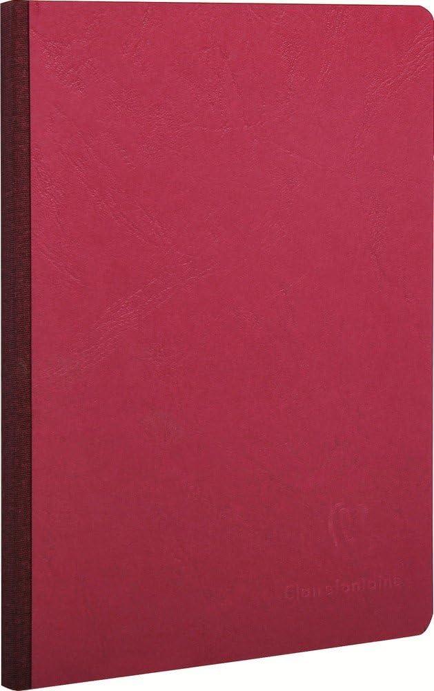 Clairefontaine 795402C Quaderno Brossurato, 20.5 X 14.8 X 1.1 Cm, Ciliegia