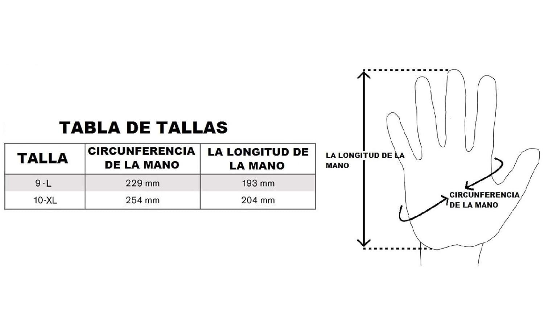 Especialista guantes anticorte 1 Par, 9L est/ándar EN 388 4544C guantes resistentes a cortes de alta calidad SHIELD