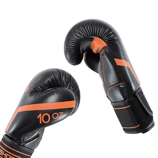 XBQJST Guantes De Entrenamiento De Boxeo, Muay Thai Wushu Sanda Punch Pelea De Boxeo, Guantes De Boxeo Unisex Negro Naranja, 8/12 Oz: Amazon.es: Deportes y ...