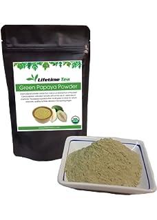 Amazon.com: Green Papaya Digestive Enzymes Powder Royal Tropics 5 oz ...