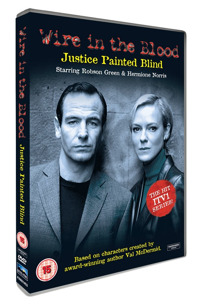 Wire In The Blood - Justice Painted Blind [UK DVD]: Amazon.co.uk ...