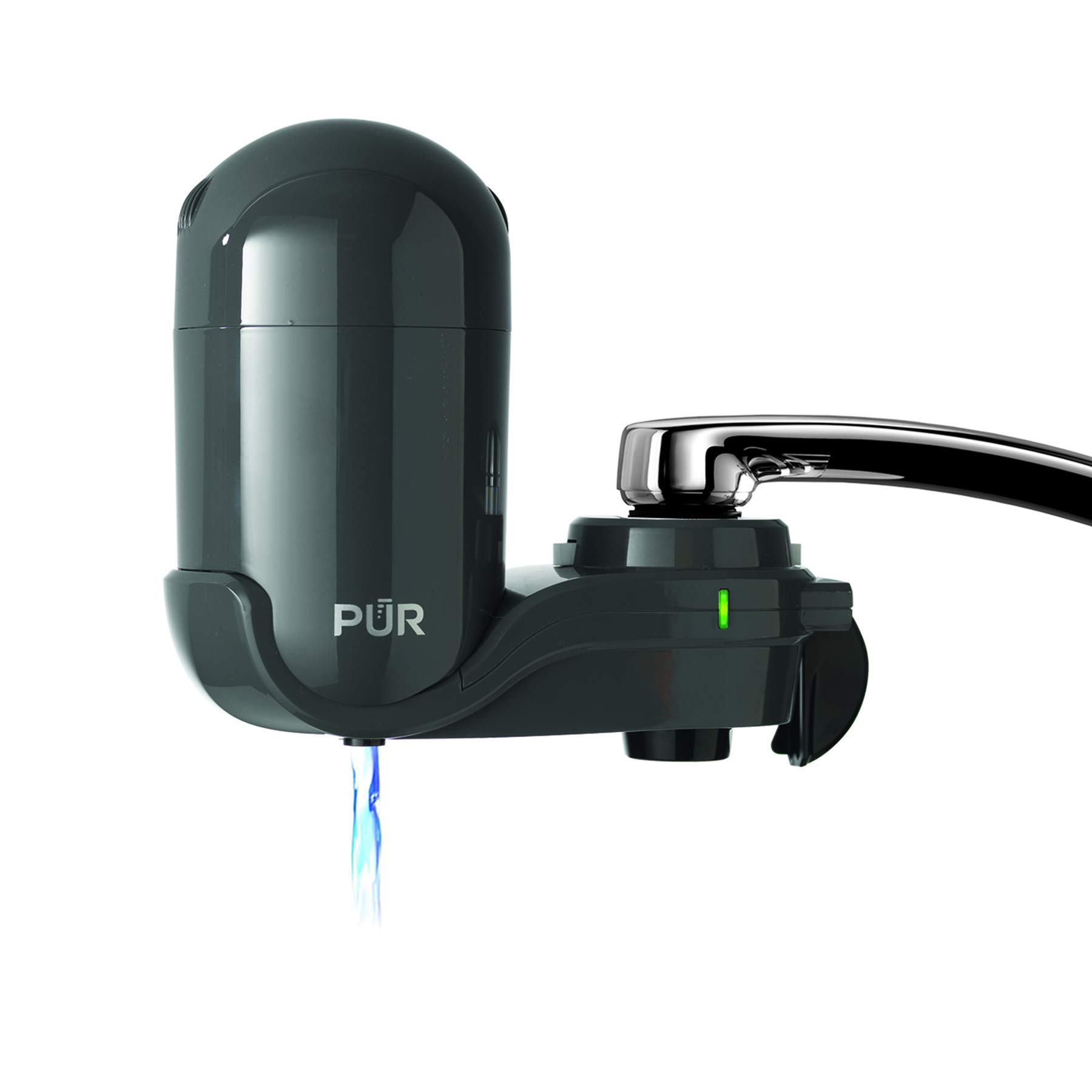 PUR FM2500V Classic Faucet Mount Filter, Small, Grey by PUR