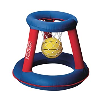 S & S Worldwide hinchable baloncesto aro y bola: Amazon.es ...