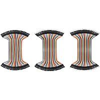 Jolicobo 3PACK Flexible Breadboard Jumper Wires - 40 Pines Multicolor Macho a Macho, Hembra a Hembra, Hembra a Macho…