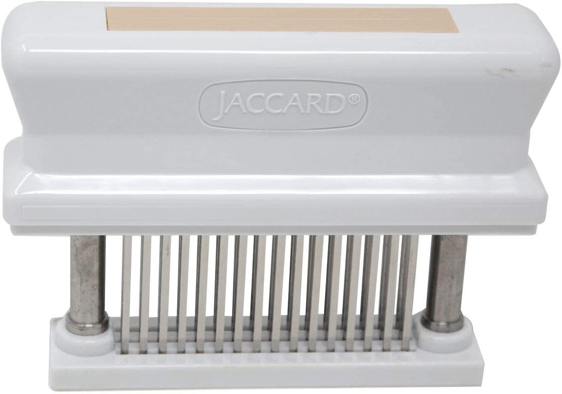 Jaccard 200348T 48-Blade, HACCP Color Coded Meat Tenderizer, 1.50 x 4.00 x 5.75 Inches, Tan – Pork