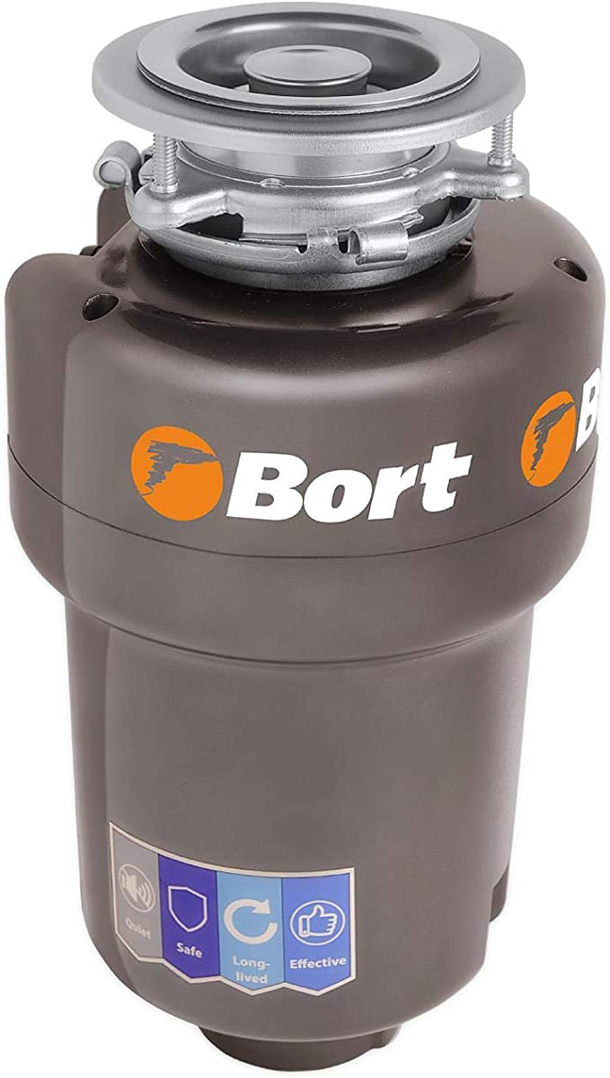 Bort Titan Max Power Waste Disposer, 1400 ml, 780 W, 1 Horse Power, Overheating, Clamping Friction and Overload Protection, Noise Protection, Automatic Shut-Off, High Performance: Amazon.de: Baumarkt