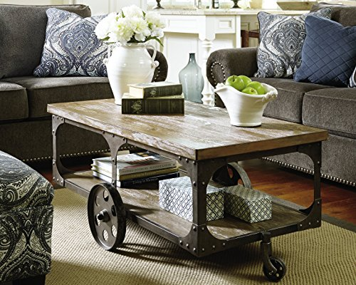 Ashley Furniture Signature Design Vennilux Coffee Table
