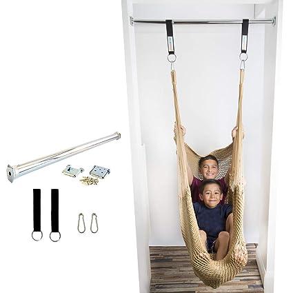 Chin-up Bar DreamGYM Brackets Doorway Pull-up Bar Gymnastics bar