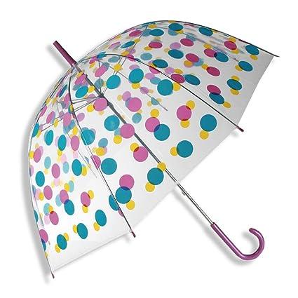 HC-Handel HC de Comercio 923148 Cúpula de paraguas Puntos 85 cm Multicolor