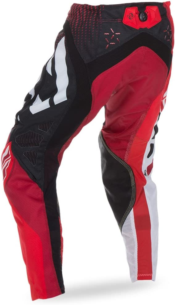 Fly Racing Evolution 2.0 Motocross//MX Hose rot-schwarz