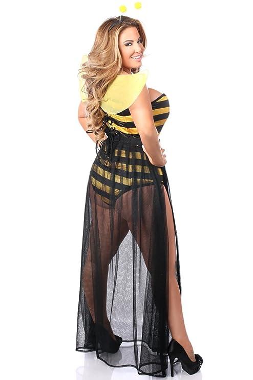 69eec85ff Amazon.com  Daisy corsets Plus Size Sexy Bumblebee Corset Costume ...