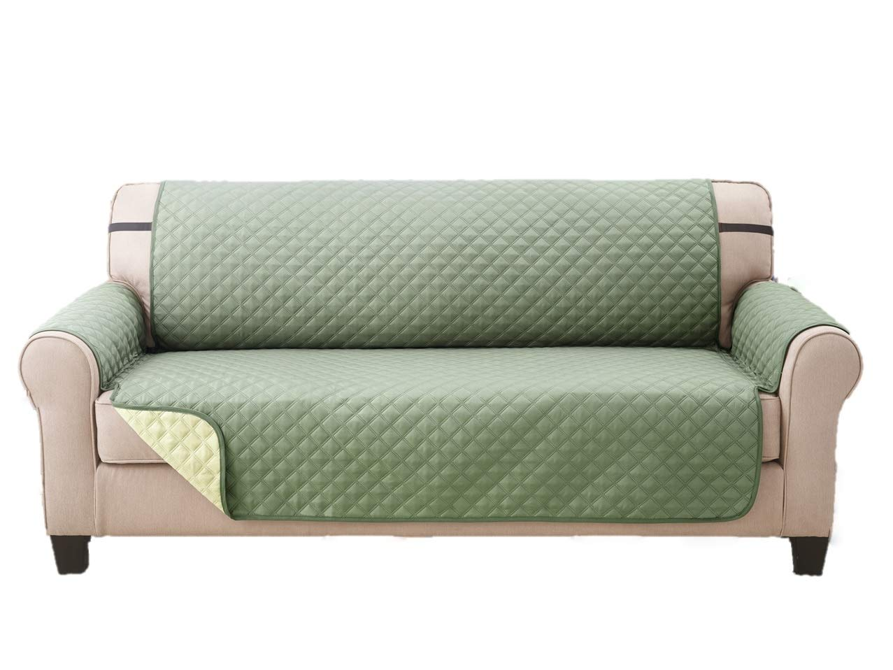 Extra Wide Reversible Sofa Couch Covers For Pets Furniture