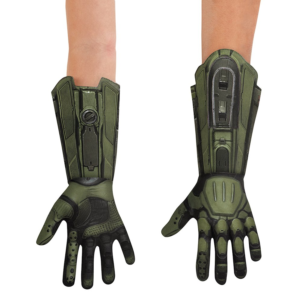 Disguise HALO Master Chief Deluxe Child Gloves, One Size by Disguise