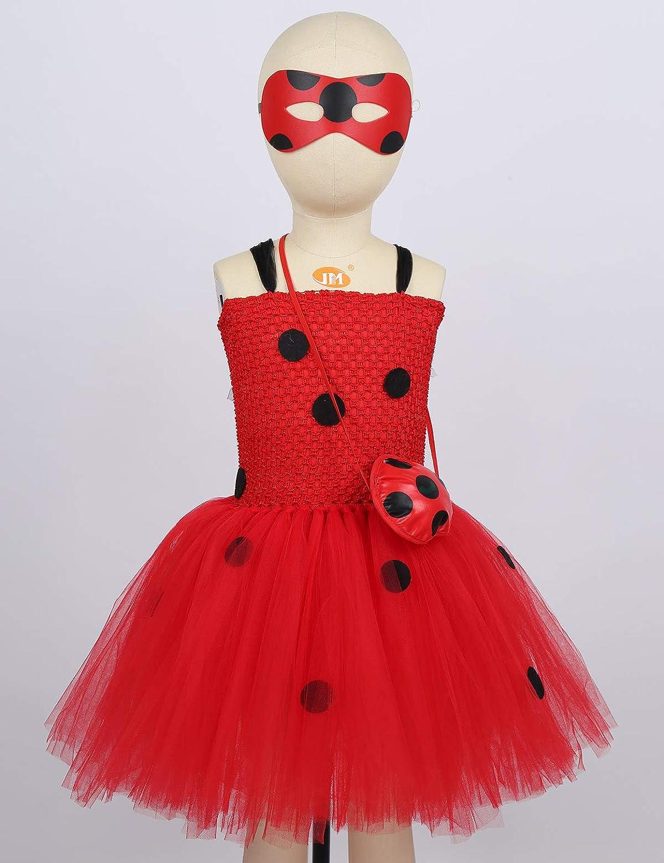 Amazon.com: chictry Niñas Niños Miraculous Lady Bug niña ...