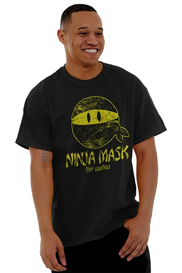 Amazon.com: Ninja Mask Samurai Japan Sneaky Stealthy T Shirt ...