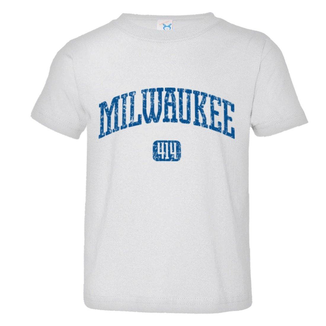 Toddler Milwaukee Vintage Distressed Original Home HQ Tee Shirt