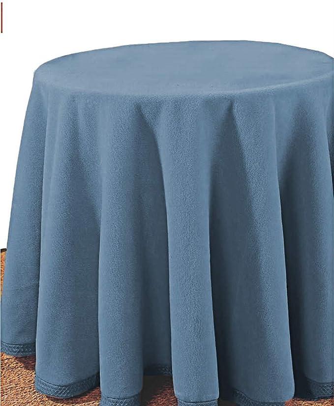 mantel Falda para Mesa Camilla Redonda Hogar Decorativa Invierno ...