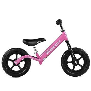 Xiaoping Balancín Bicicletas Bicicleta Niños Caminante Sin Pedal Pie Infantil Cuatro Ruedas Bicicleta Niño Primer Regalo de Cumpleaños (Color : 3): ...