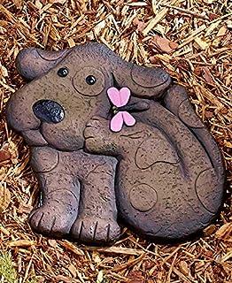 Amazon stone garden dog garden outdoor animal garden stones brown dog workwithnaturefo