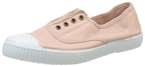 Victoria Inglesa Elástico Tintada Puntera, Zapatillas Unisex Adulto: Amazon.es: Zapatos y complementos