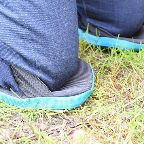 Neat Ideas Easy Rodillas Jardín Rodilleras Cierre Velcro - Verde: Amazon.es: Bricolaje y herramientas