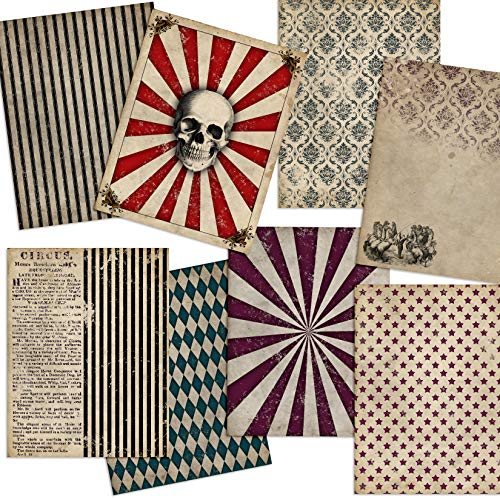 Gothic Circus Journal Paper Pack - EZ Journal 7033