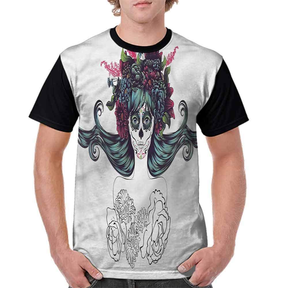 Blountdecor Teen Tshirtsexy Woman Heart Tattoo Fashion Personality Customization