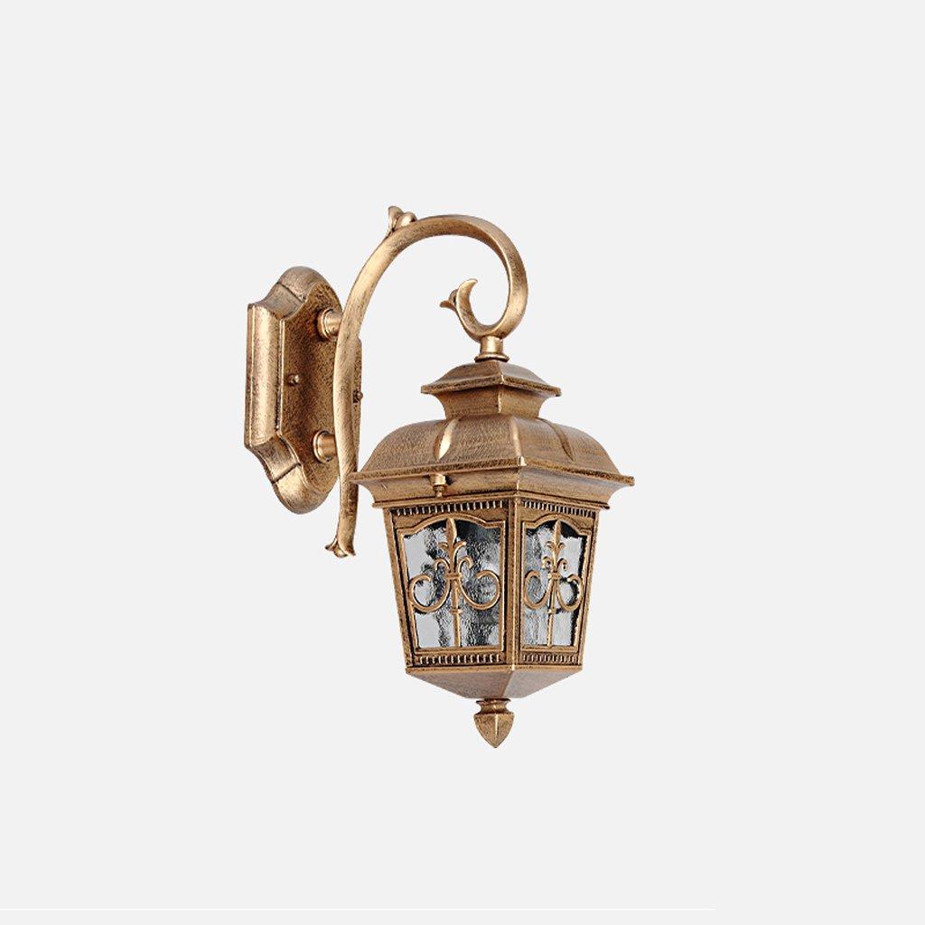 HZB Luci da giardino all'aperto, corridoi esterni, lampade da parete americane retro-impermeabili. (Dimensione   M)