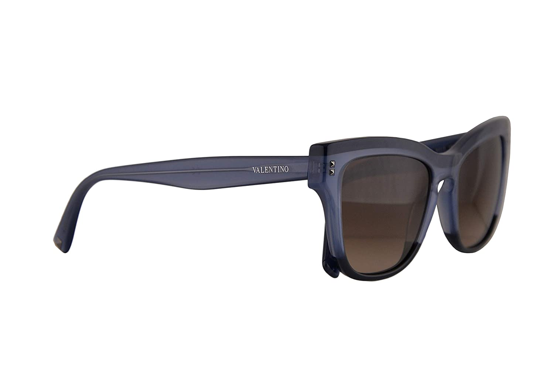 Amazon.com: Valentino VA 4036 - Gafas de sol, color azul ...