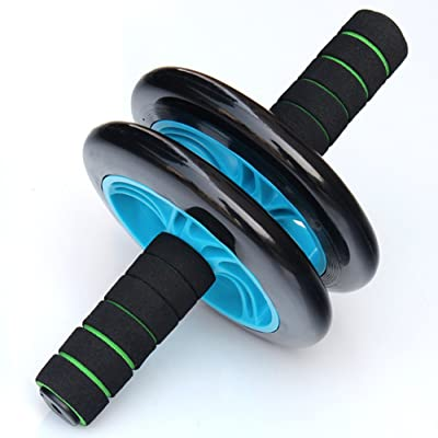 Wheel Roue Rollers Abdominale Équipement D'exercice Avec Confortables, Poignées de Easy Grip Exerciseur Abdominal ABS Équipement D'entraînement pour Hommes et Femmes
