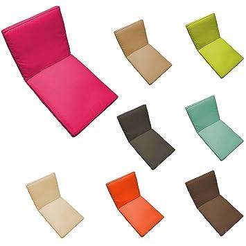 Coussin fauteuil salon de jardin - 90 x 42 cm - Spécial extérieur ...