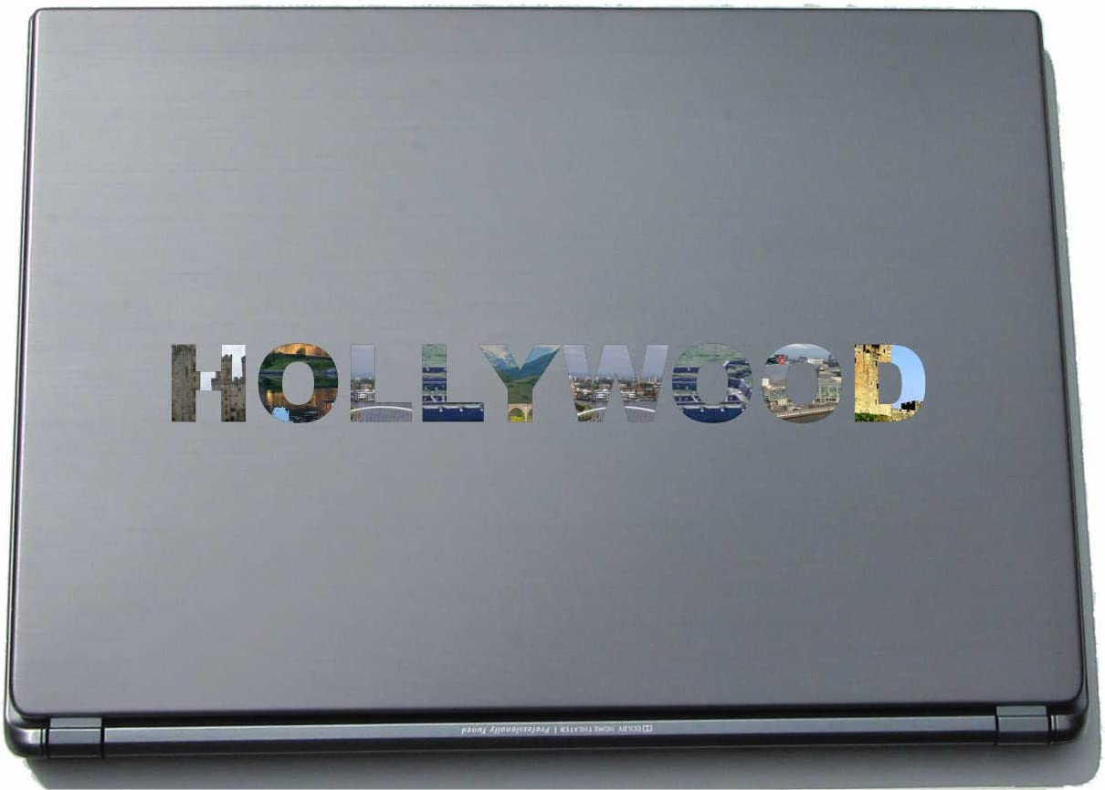 Hollywood Laptop Sticker Laptop Skin 290 mm with sights