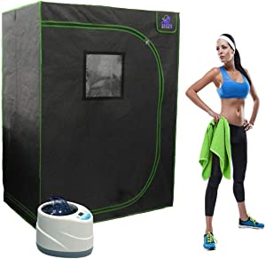 Sauna Rocket | 2-Person Home Steam Sauna Kit for Recovery, Weight Loss, Relaxation