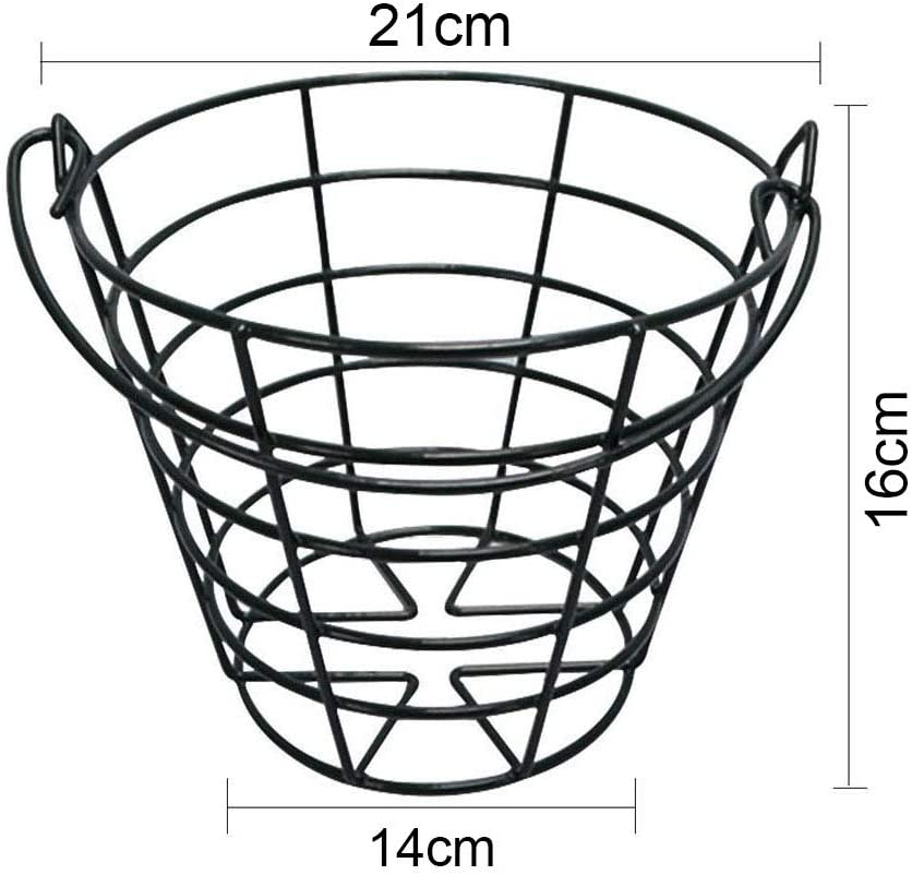 PGM Metal Golf Basket Golfball Container