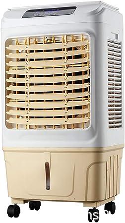 Aire acondicionado industrial portátil, ventilador de refrigeración Dormitorio Sala de estar Aire acondicionado interior Ventilador Jardín exterior Ventilador de refrigeración Enfriador de aire: Amazon.es: Hogar