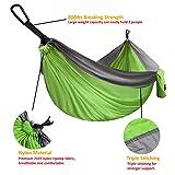 XL Double Parachute Camping Hammock - Tree Portable