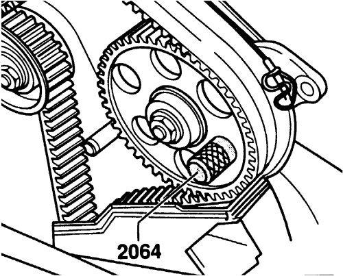 Amazon Com Timing Tool For Volkswagen Audi Vw 2064 Automotive