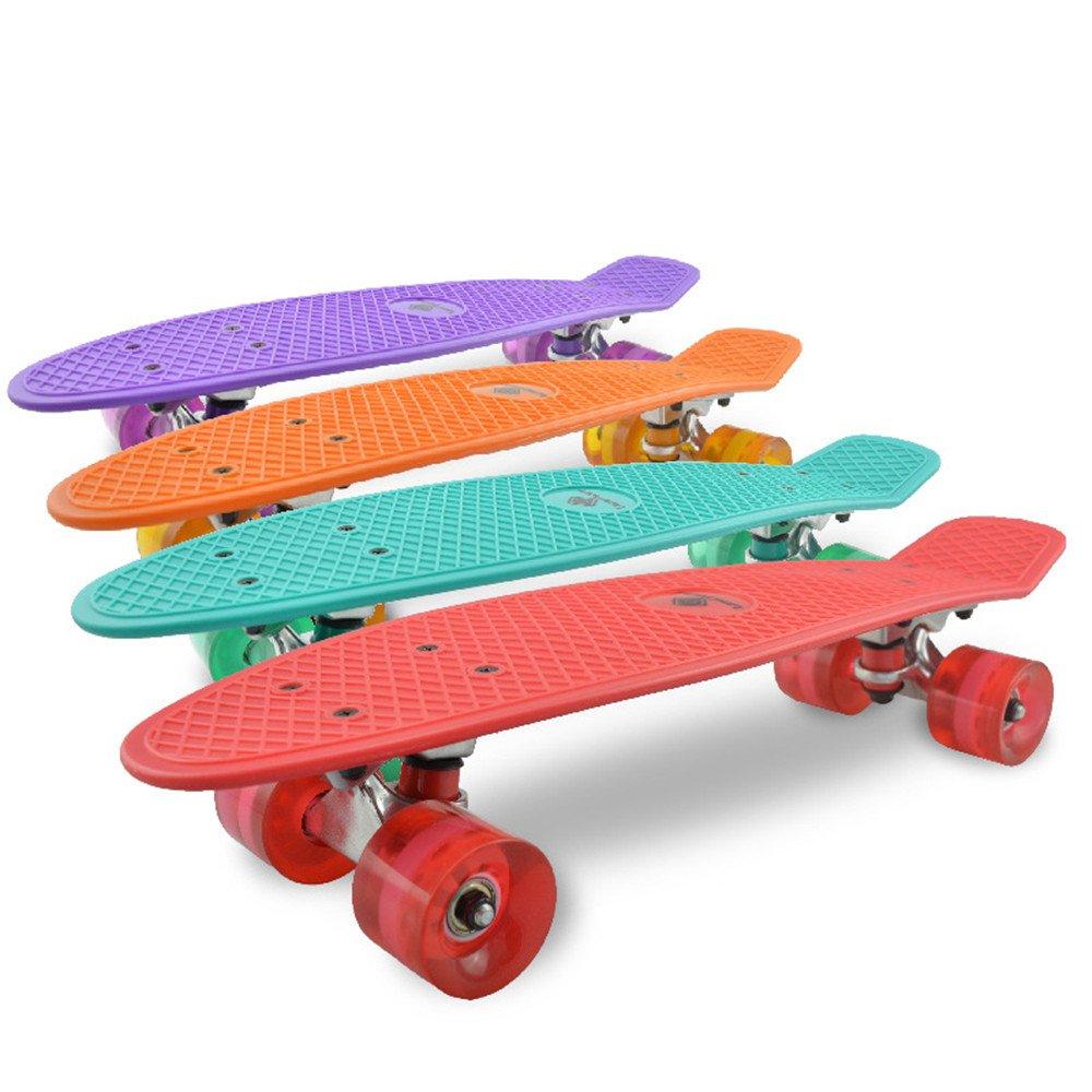 【史上最も激安】 初心者のための完全な4輪のクルーザースケートボード頑丈なデッキで Red (Color : Green) (Color B07H7Y6G1C Green) Red Red, ファイン パーツ ジャパン:f5a004c0 --- a0267596.xsph.ru