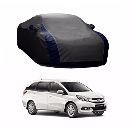 Motrox Lively Water Resistant Car Body Cover For Honda Mobilio Grey