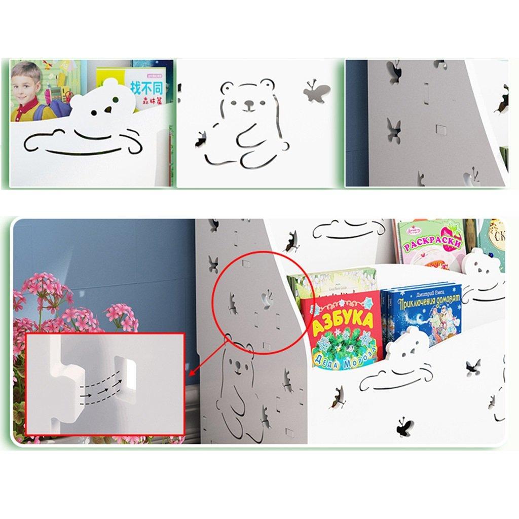 Chang Xiang Ya Shop Librer/ía Infantil para ni/ños Estanter/ía librer/ía Librer/ía con Estantes Color : Pink